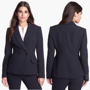New PINK TARTAN Tiffany Black Blazer Jacket Sz. 0